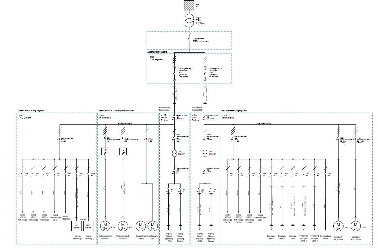 Electrical Drawings En 3d Plan Electricity Network Planning Netzberechnung 02 03